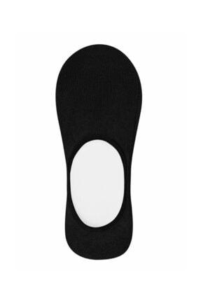 SUWEN Kadın Siyah Cotton Comfort Çorap