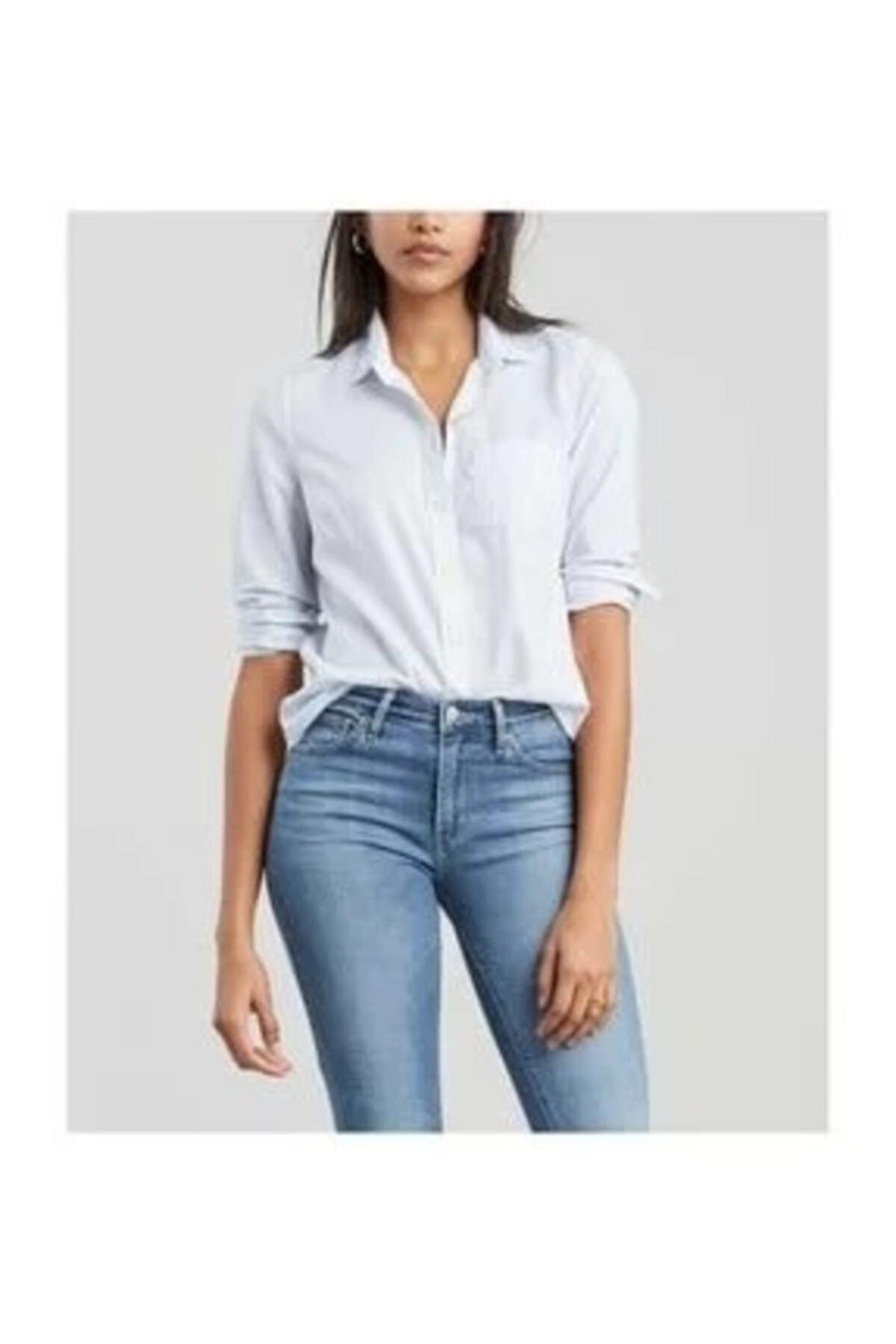 Levi's Kadın Mavi Gömlek 23548-0098 1