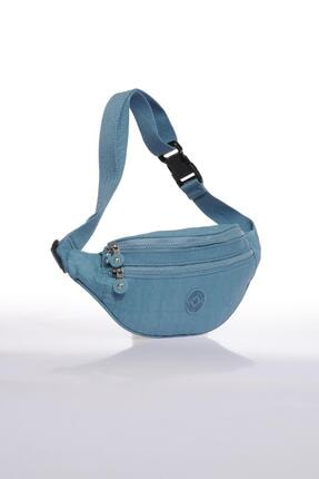 SMART BAGS Smb3030-0050 Buz Mavi Kadın Bel Çantası