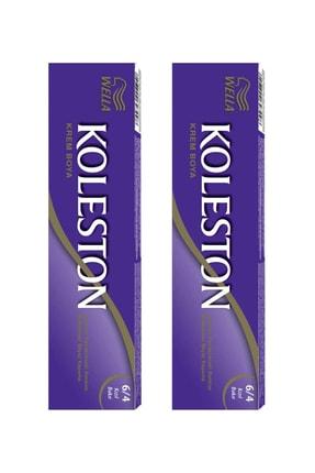 Wella 2'li Koleston Tüp Boya 6/4 Kızıl Bakır Saç Boyası