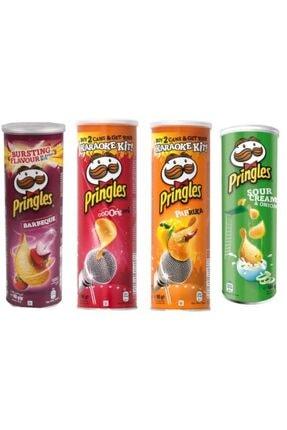 Pringles 4 Det Cips Orjinal 4x165 gr