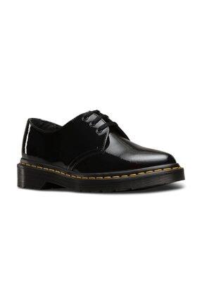 Dr. Martens Dupree Patent 3 Eye Siyah Deri Kadın Ayakkabı 22101001 Siyah