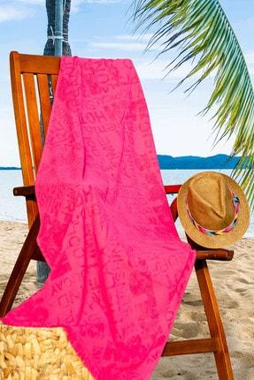 eumenia 70x160 Cm Summer Desen Plaj Havlusu Vtx620