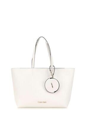 Calvin Klein Kadın Must Shopper Md Cav Kadın Kol Çantası K60k606649