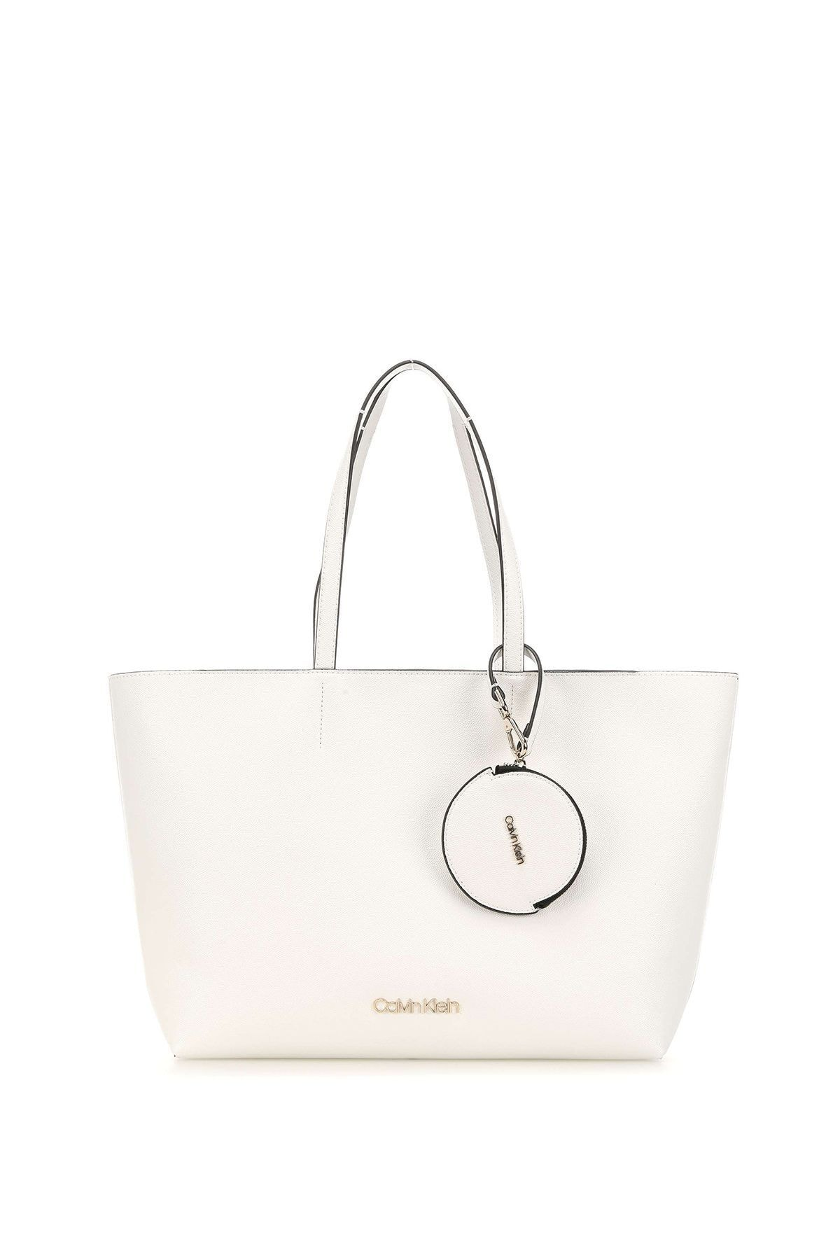 Calvin Klein Kadın Must Shopper Md Cav Kadın Kol Çantası K60k606649 1