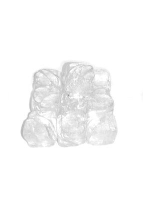 SihirliAletler Kristal Buz Küpleri (erimeyen, Yapay - Sahte - Sentetik - Plastik - Dekor) - 10 Lu Paket