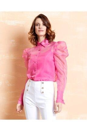 SERPİL Kadın Organze Gömlek