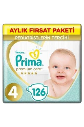 Prima Premium Care Bebek Bezi 4 Beden Maxi 9-14 Kg 126li