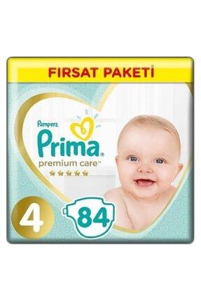 Prima Premium Care Bebek Bezi 4 Beden Maxi 84lü