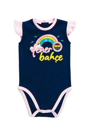 Fenerbahçe Lisanslı Lacivert Kız Bebek Body