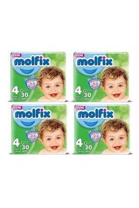 Molfix Bebek Bezi Maxi 4 Numara 7-14 Kg 4x30 120 Adet