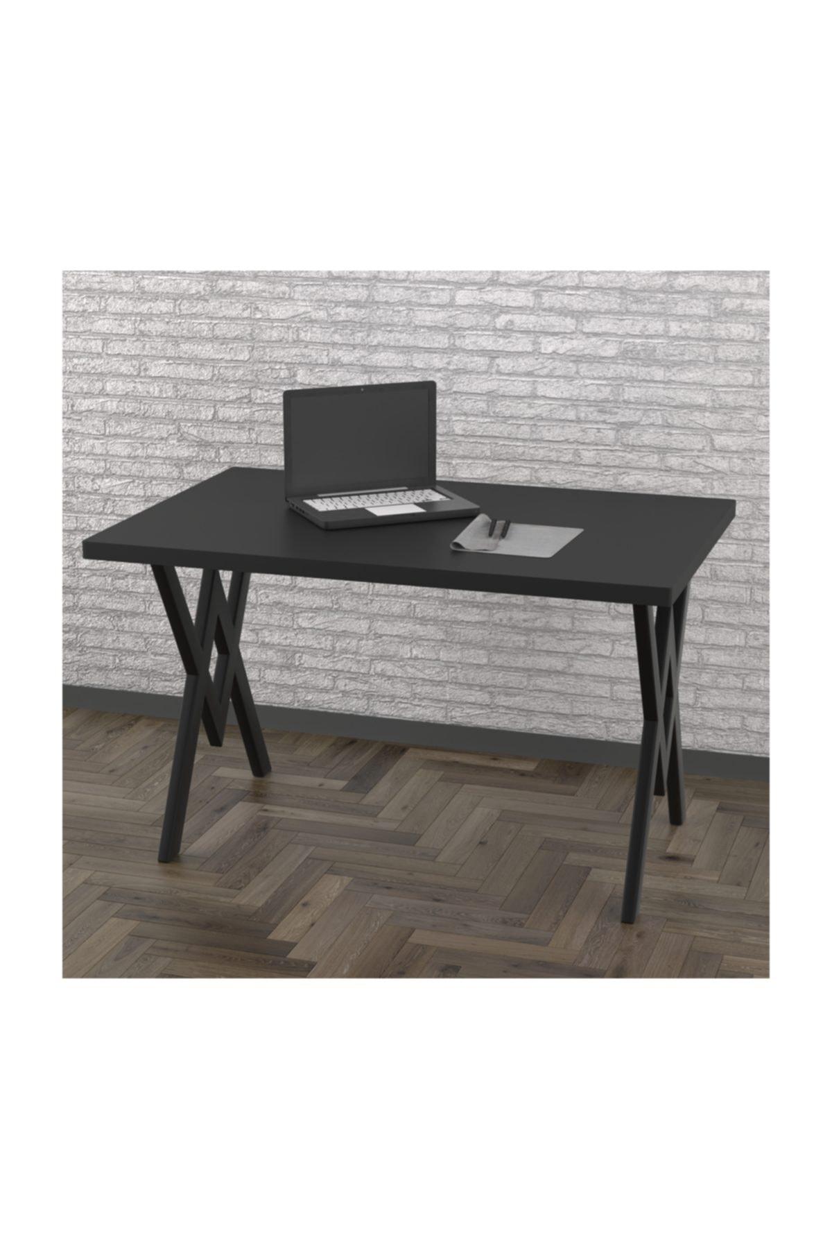 Evdemo Koza Çalışma Masası Siyah 1