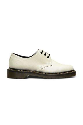 Dr. Martens 1461 3 Eye Glitter Beyaz Deri Kadın Ayakkabı 23781544 Beyaz