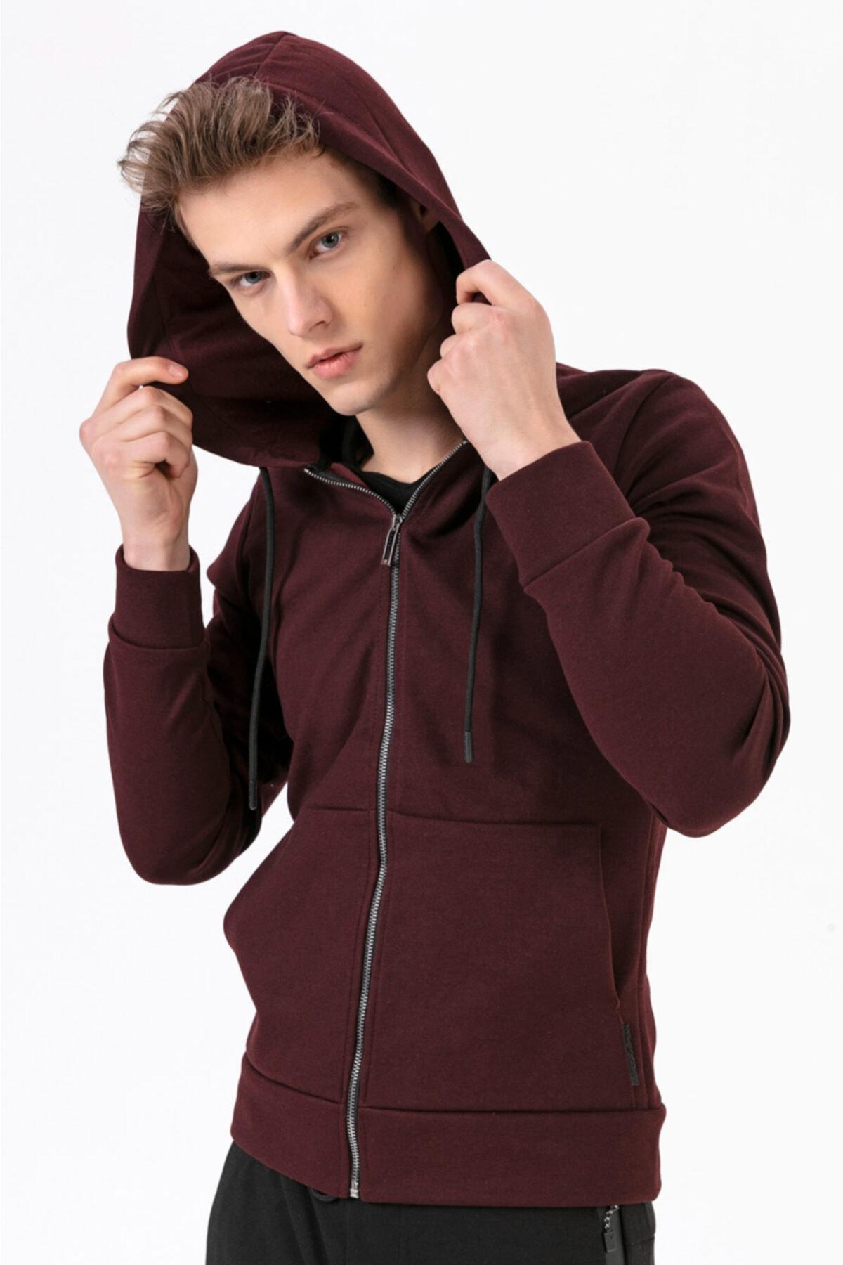 Fabregas Fermuarlı Kapşonlu Sweatshirt 1