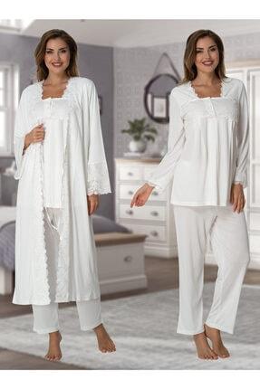 Effort Pijama 7014 Lohusa Hamile Pijama Takım Sabahlık
