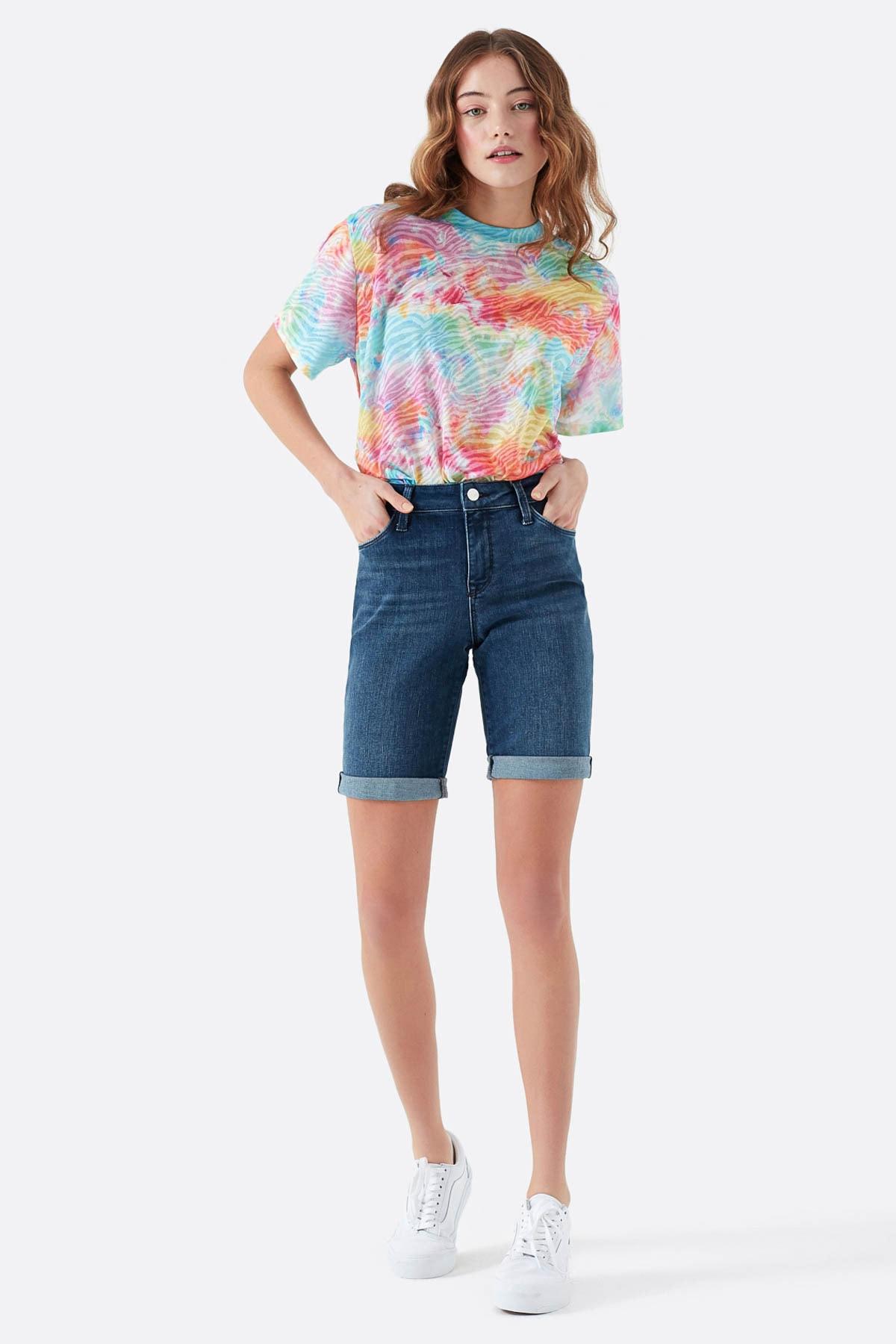Mavi Kadın Alexis Gold Lux Move Jean Şort 1441528584 1