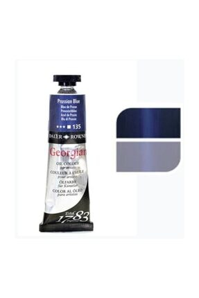 Daler Rowney Georgian Yağlı Boya 38ml No:135 Prussian Blue