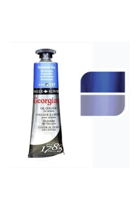 Daler Rowney Georgian Yağlı Boya 38ml No:137 Permanent Blue