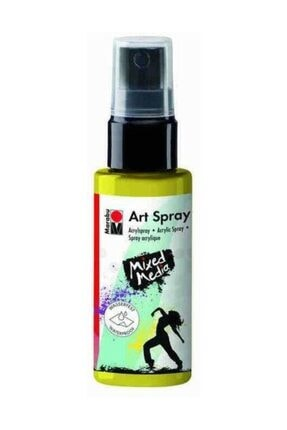 Marabu Art Spray Akrilik Sprey Boya 50 ml 020-Lemon