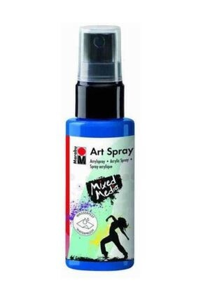 Marabu Art Spray Akrilik Sprey Boya 50 ml 057-Gentian