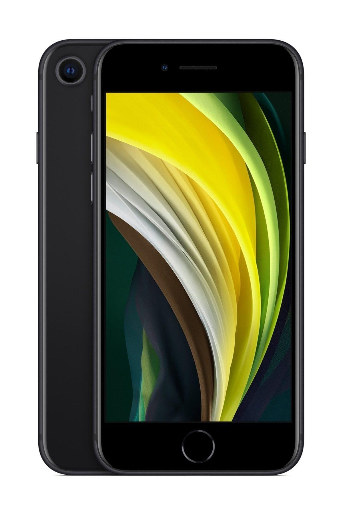 Apple iPhone SE (2020) 64 GB Siyah Cep Telefonu (Apple Türkiye Garantili) Aksesuarlı Kutu 1