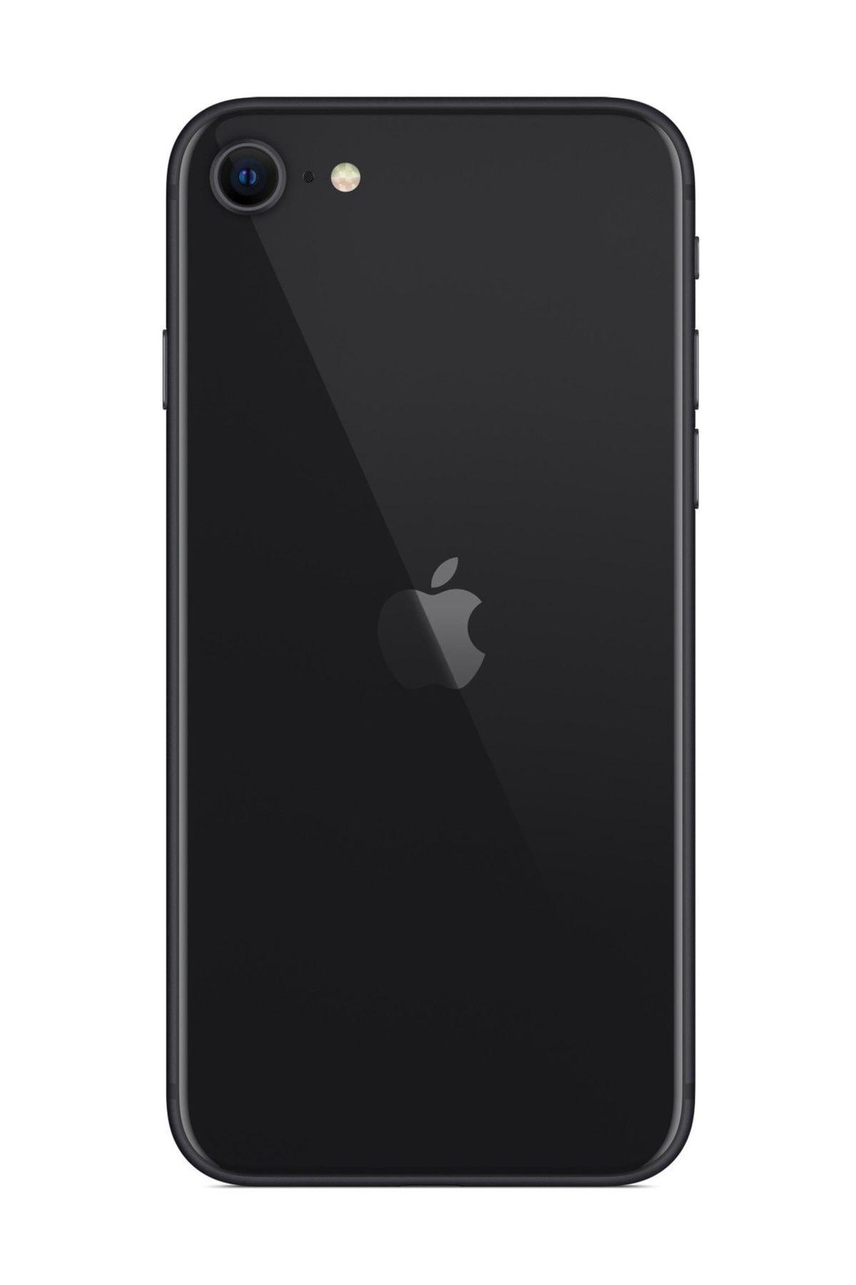 Apple iPhone SE (2020) 64 GB Siyah Cep Telefonu (Apple Türkiye Garantili) Aksesuarlı Kutu 2