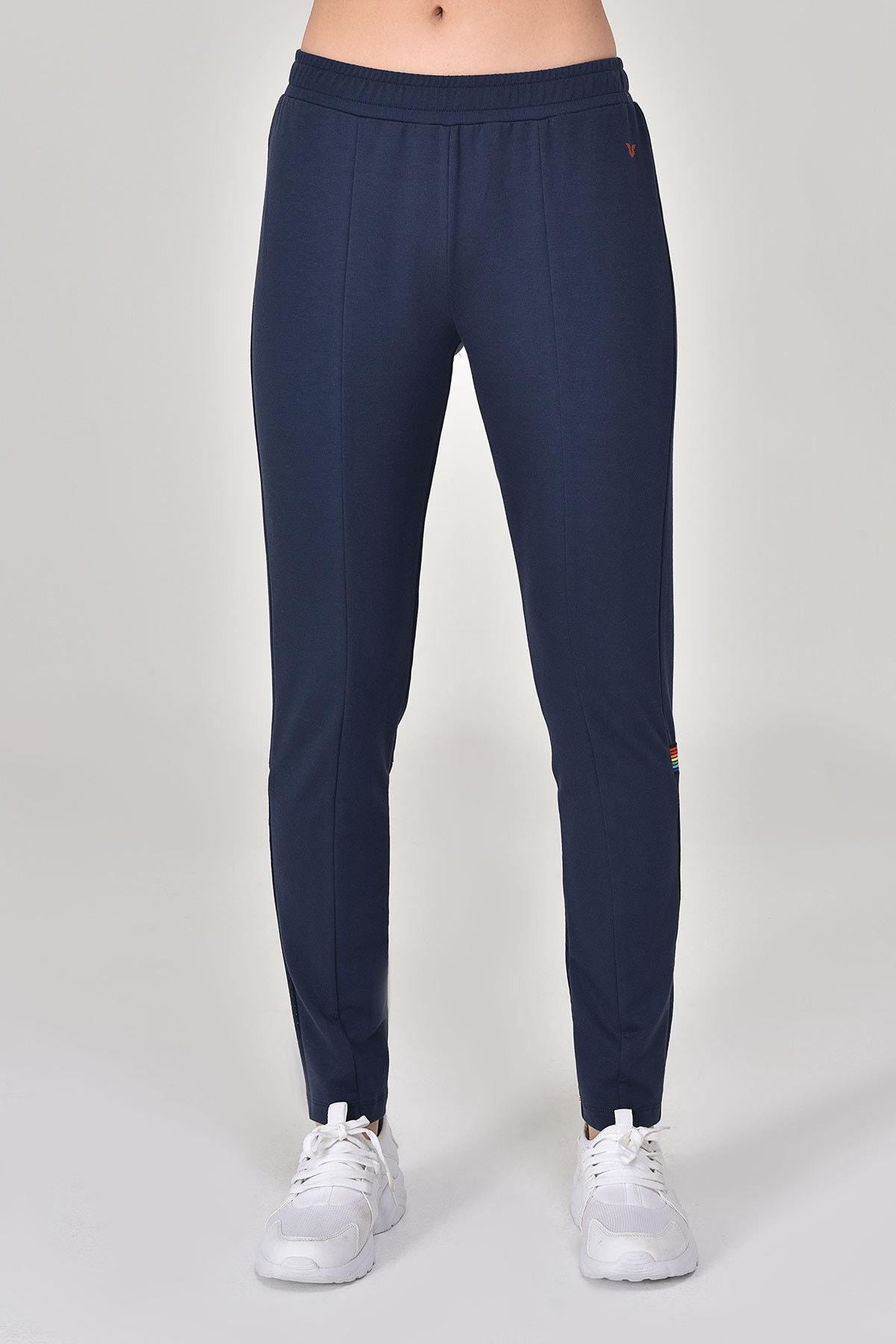 bilcee Lacivert Kadın Pantolon  GS-8095 2