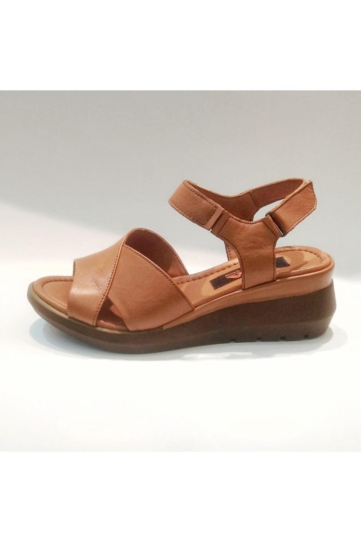 Stella Kadın  Hakiki Deri Sandalet 2