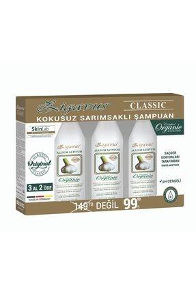 Zigavus Klasik Sarımsaklı Şampuan 250 ml 3 Al 2 Öde 8699349139193