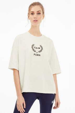 Puma x SELENA GOMEZ Bol Kesim Kadın T-Shirt