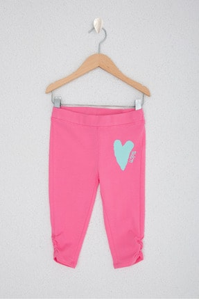U.S. Polo Assn. Pembe Kız Çocuk Örme Pantolon