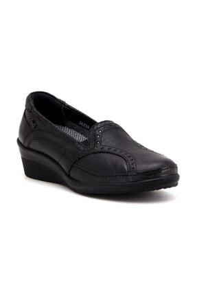 Forelli Kadın Siyah Ortopedik Ayakkabı