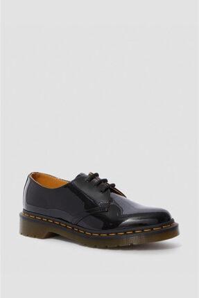 Dr. Martens 1461 Patent 3 Eye Siyah Deri Kadın Ayakkabı 10084001