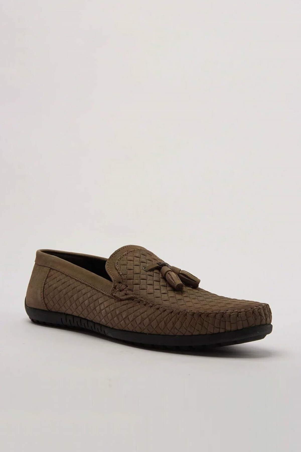 Hotiç Hakiki Deri Vızon Erkek Loafer Ayakkabı 02AYH173710A450 2