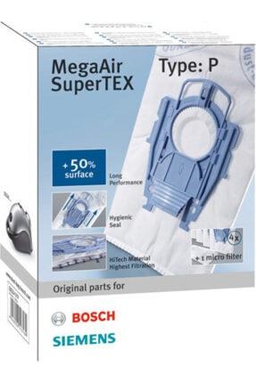 Bosch -siemens Type P Tipi Ergomax Süpürge Toz Torbası
