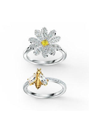 Swarovski Yüzük Eternal Flower-ring Set Czoy-mix 55 5512661