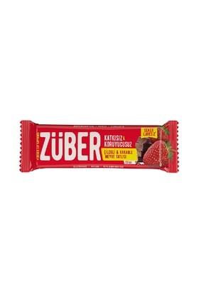 Züber Züber Çilekli Çikolatalı Meyve Bar 40 G