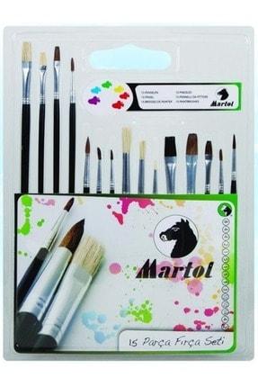 Maries Martol Resim Fırça Seti 15 Li (sulu-akrilik-yağlı-guaj Boya)