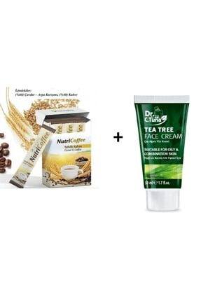 Farmasi Çay Ağacı Yağı Yüz Kremi 50 Ml+ Nutriplus Nutricoffe Tahıllı Kahve