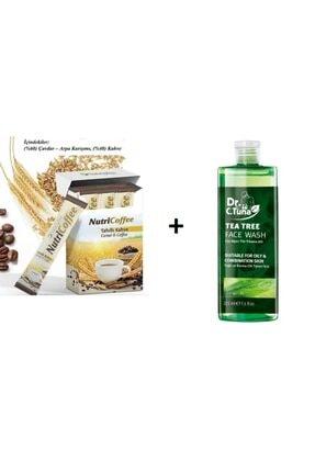 Farmasi Çay Ağacı Yağı Yüz Yıkama Jeli 225 Ml + Nutriplus Nutricoffe Tahıllı Kahve