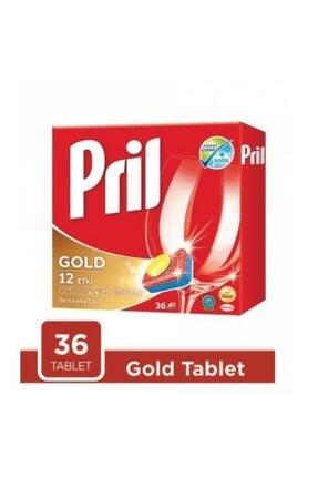 Pril Gold 12 Etki Bulaşık Makinesi Tableti 36'lı