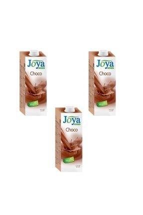 Joya Kakao Aromalı Soya Sütü 1 Litre ( 3 Adet )