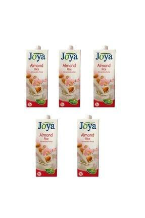 Joya Bademli Pirinçli Süt 1 Litre ( 5 Adet )