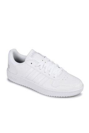 adidas Kadin Sneaker Hoops  Beyaz Spor Ayakkabı B42096-2.0