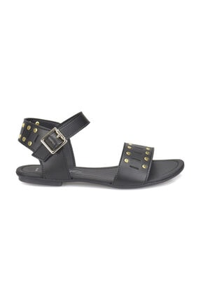 ART BELLA CS18129 Siyah Kadın Sandalet