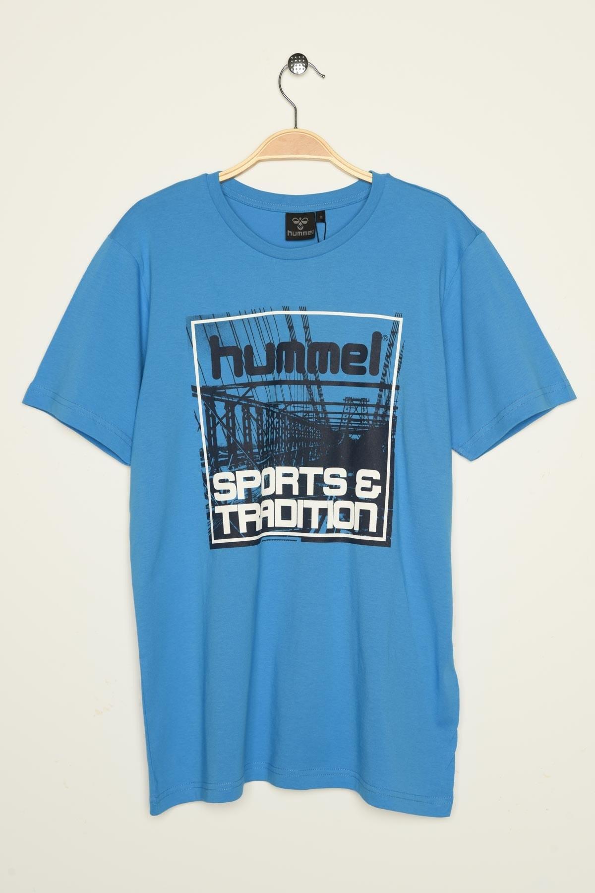 HUMMEL Erkek Spor T-Shirt - Hmlalbus T-Shirt S/S 1