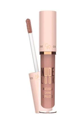 Golden Rose Doğal Işıltılı Dudak Parlatıcısı - Nude Look Natural Shine Lipgloss No:01 Nude DeLight 8691190967406
