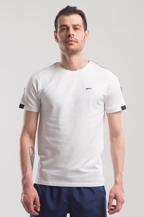 Slazenger PAUL Erkek T-Shirt Beyaz ST10TE070