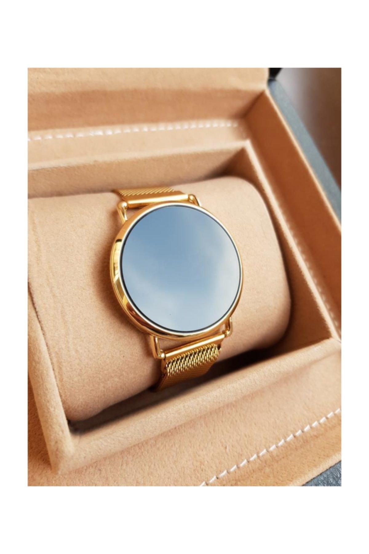 Gold Time Bileklik Hediyeli Mıknatıslı Kordon Dokunmatik Ekran Unisex Saat 1