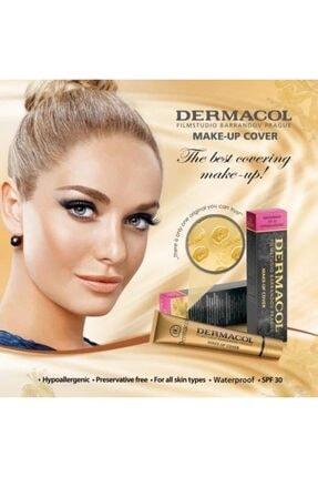 Dermacol Make-up Cover Ultra Kapatıcı Fondöten 208